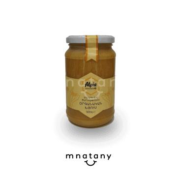 Alpia Organic Honey And Flower Pollen (500g)