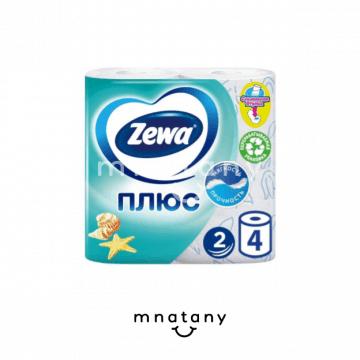 Zewa Plus Toilet Paper 4pcs.